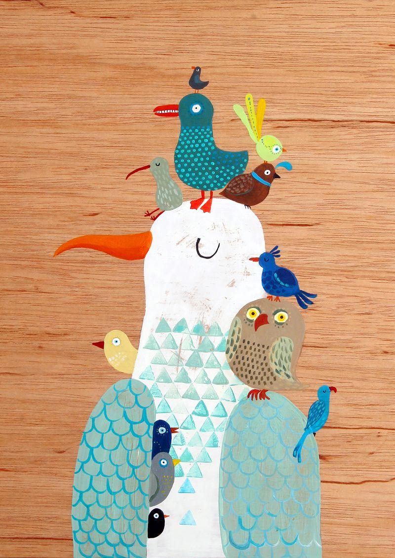 a4 bird