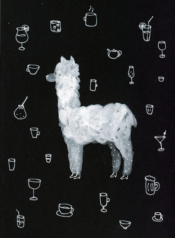 Inktober 2 Alpaca