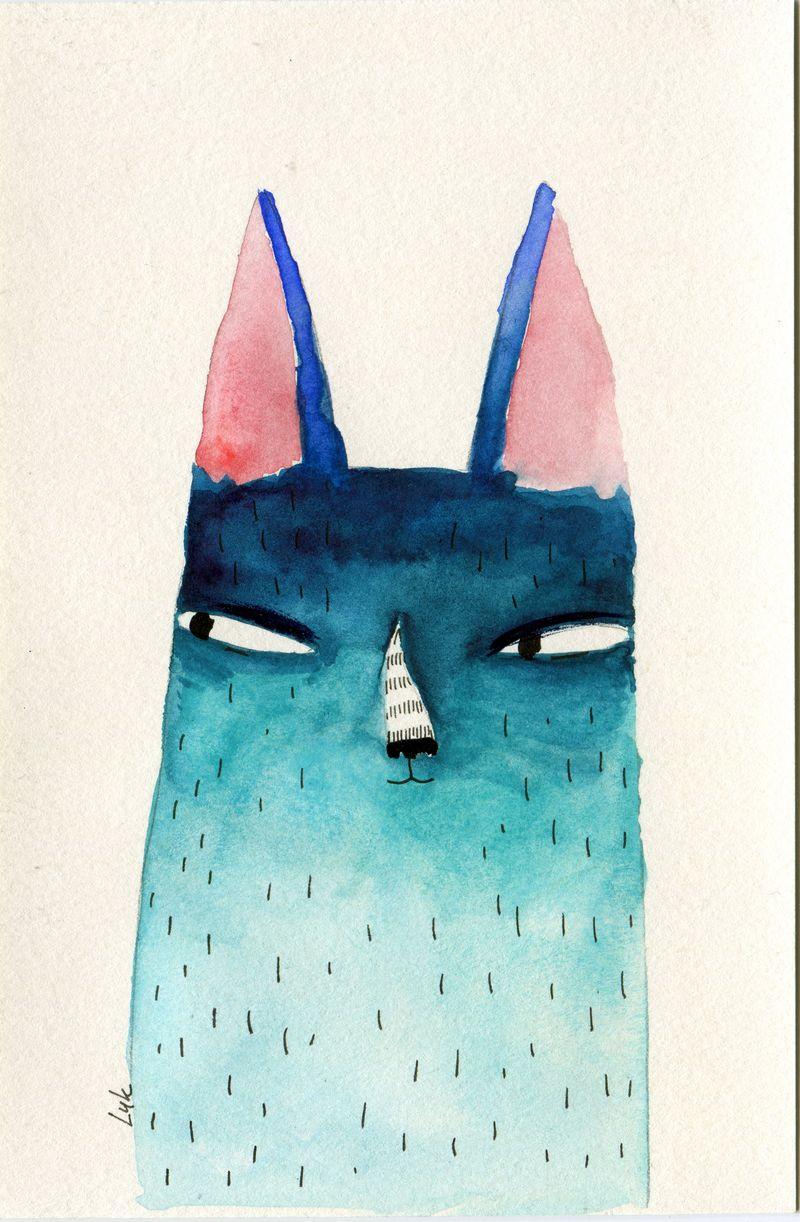 blue cat sneaky 2016